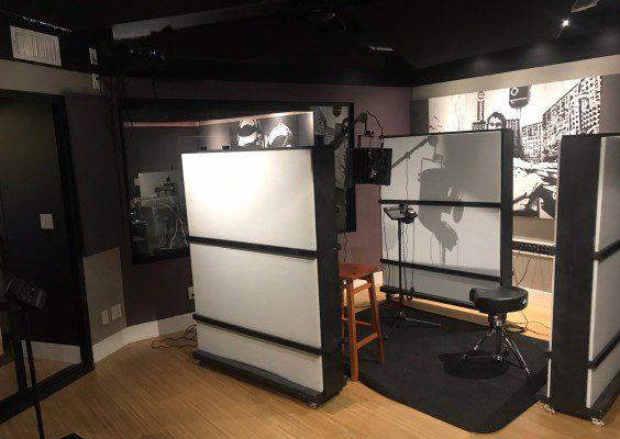 construction de studio d'enregistrement audio-musique à vendre