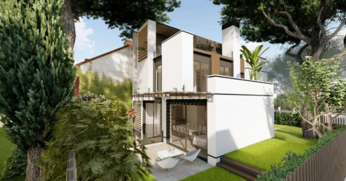 projet de développement avec construction partielle à vendre
