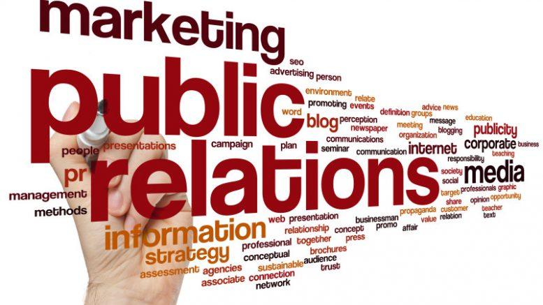 Communication marketing et relations publiques