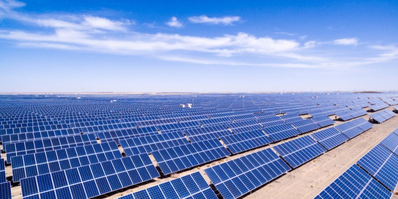 Solar project takeoff agreement