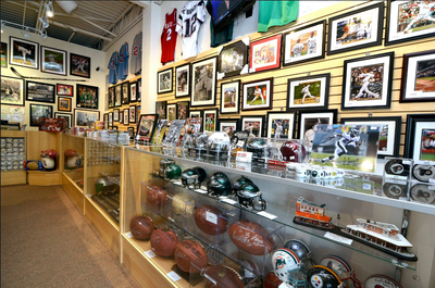 E-commerce Sports Memorabilia Store for sale