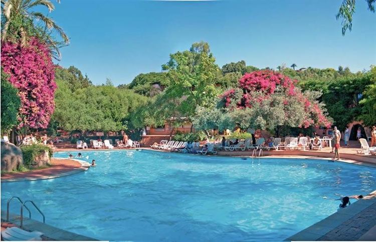 Resort near the beach in Italy