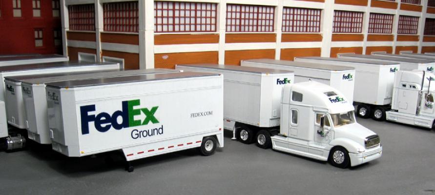FedEx line haul business in New Jersey