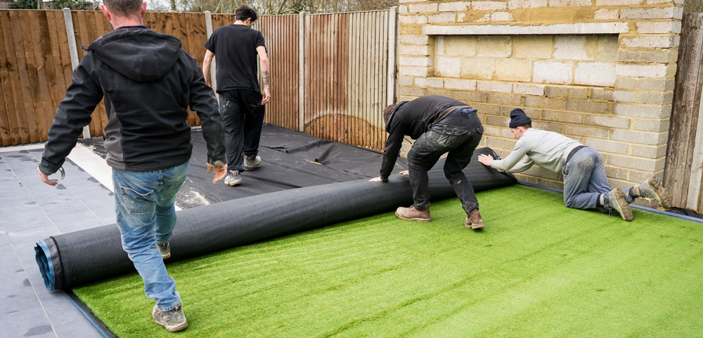 Promising business for the supply and installation of artificial grass