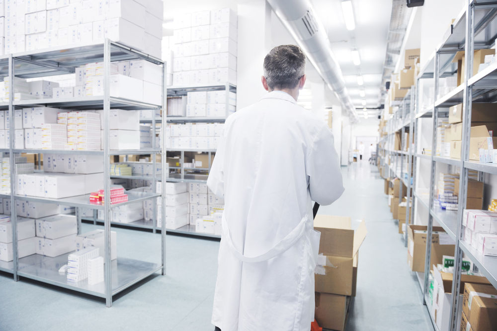 Фармацевтический склад в Румынии