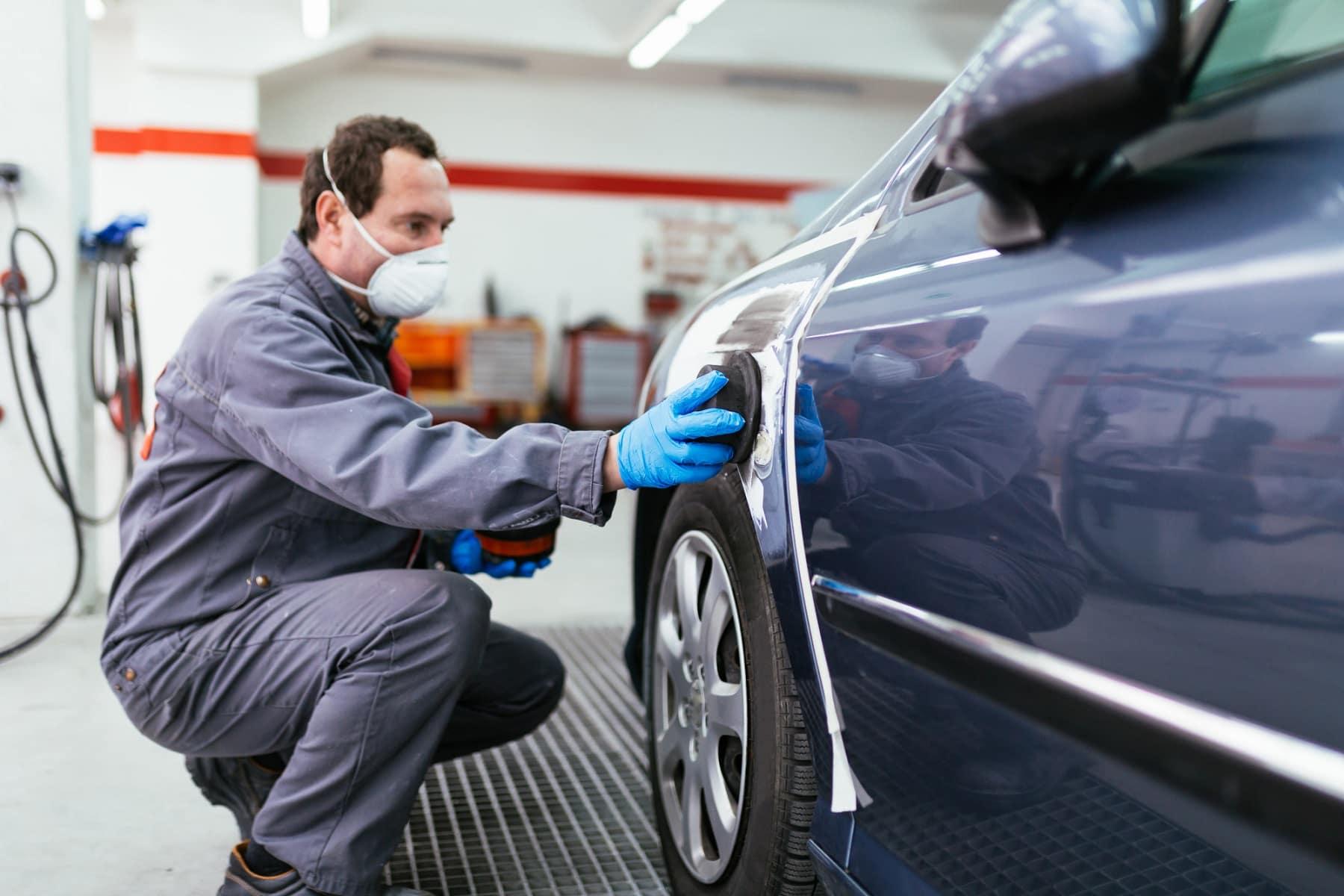 Бизнес по восстановлении аварийных автомобилей в Калифорнии