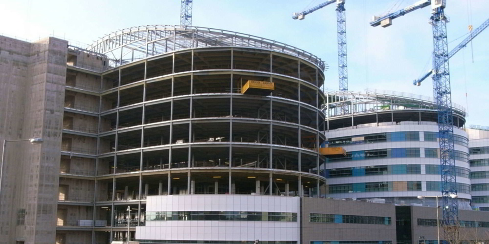 Commercial building construction company in Slovakia