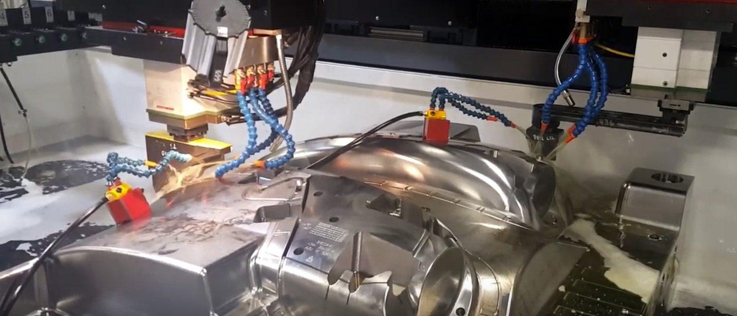 Entreprise de conception et de fabrication de moules au Canada