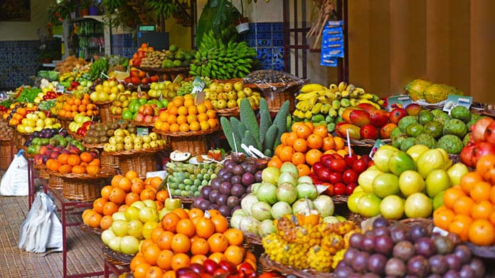 Fruit and vegetable distribution company in Colombia