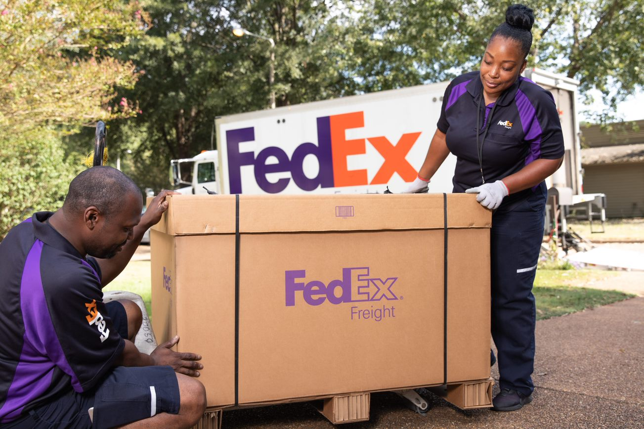 FedEx delivery business in California