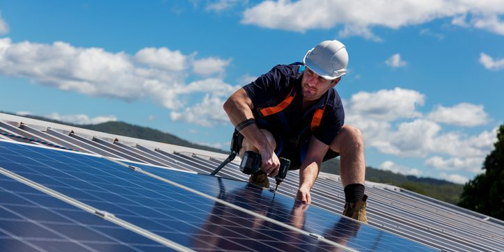Solar panel installation business in the USA