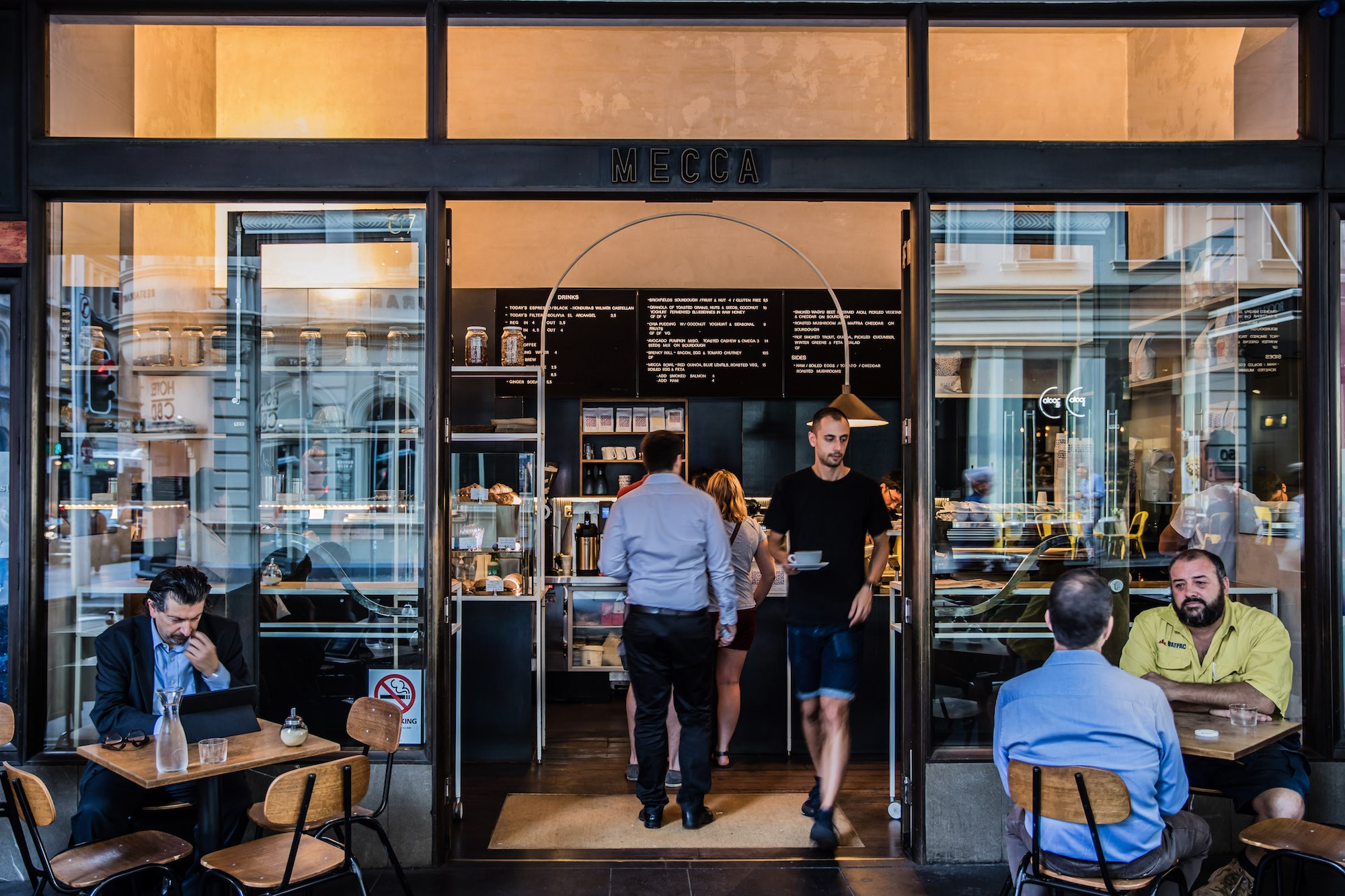 Cafe in Sydney CBD