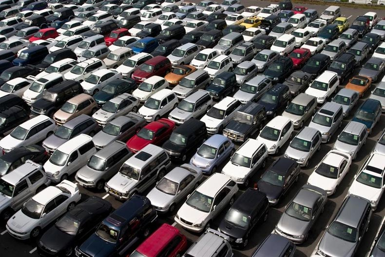Used car sale business in the United States