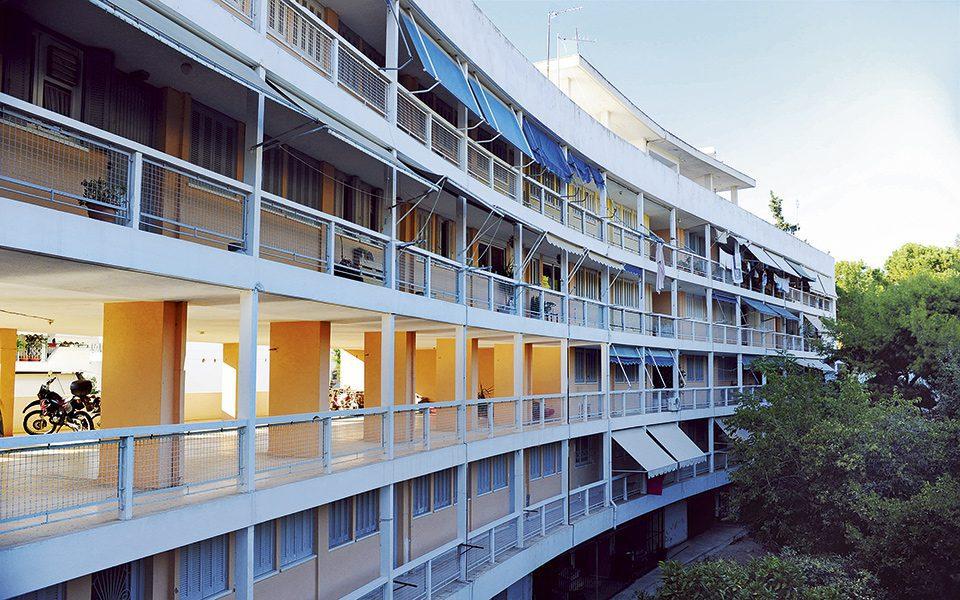 Immeuble d'appartements à Athènes