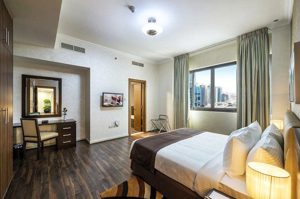 Новая недвижимость с двумя спальнями в Дубае