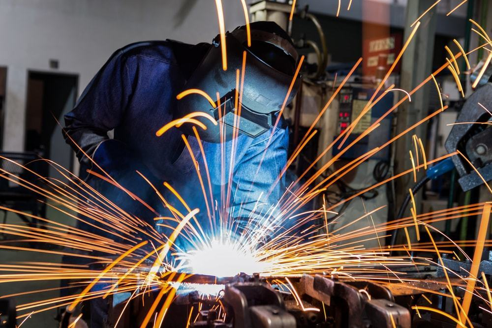 Welding and metal fabrication business in the USA