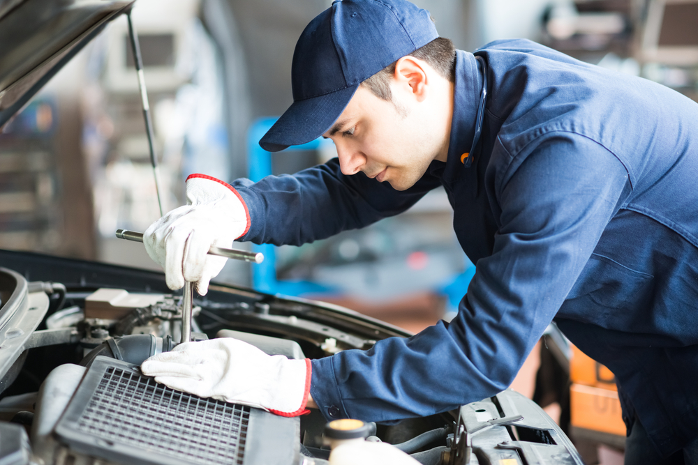 Auto repair and auto maintenance facility in California